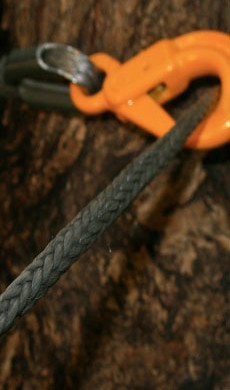 Rope made with SK-75 Dyneema® fiber